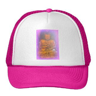 pink buddha hat