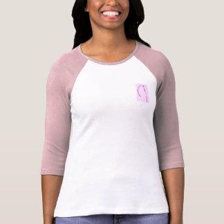 Pink Budgie Drawing Tshirts