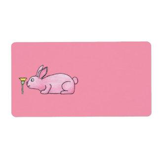 Pink Bunny Rabbit.