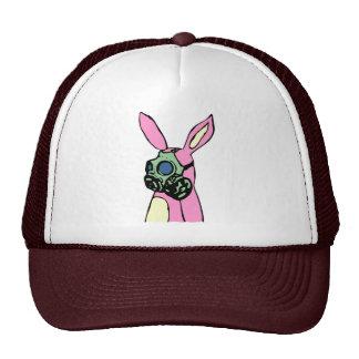Pink Bunny Rabbit Gas Mask Cap