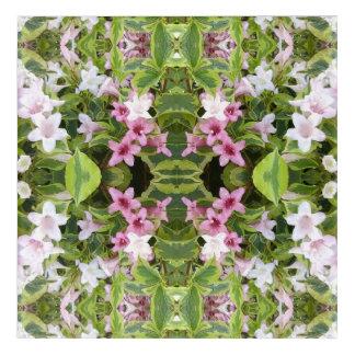 Pink Bush 743B Fractal Acrylic Print