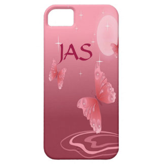 Pink Butterflies Barely There iPhone 5 Case