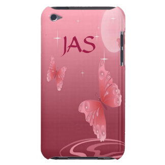 Pink Butterflies Barely There iPod Cases