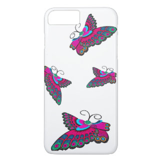Pink Butterflies iPhone 8 Plus/7 Plus Case