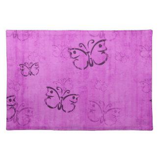 Pink Butterflies Place Mat