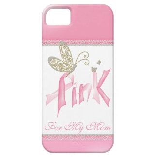 Pink Butterfly Breast Cancer iPhone case