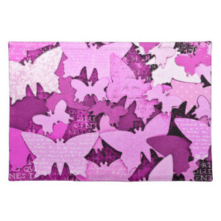 Pink Butterfly Dreams Place Mats