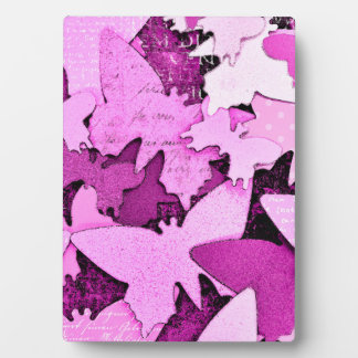 Pink Butterfly Dreams Display Plaque