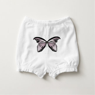 Pink Butterfly Greater Mountain Pink Nappy Cover