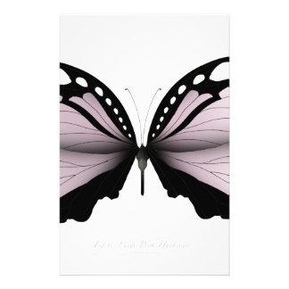 Pink Butterfly  Large Pink Huntsman Stationery
