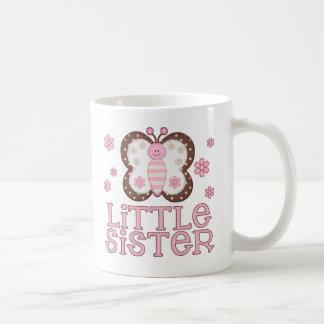 Pink Butterfly Little Sister Mug