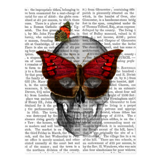 Pink Butterfly Mask Skull Postcard