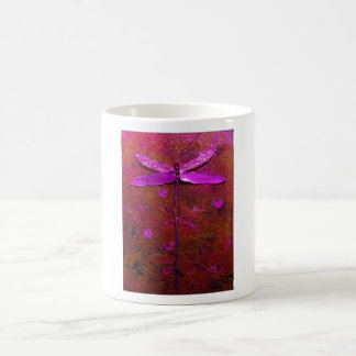 Pink Butterfly Painting Mug