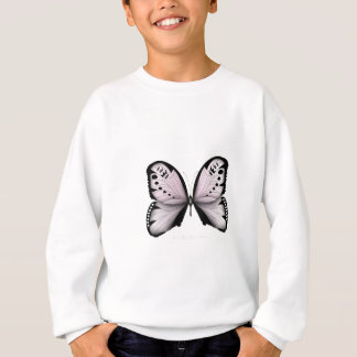Pink Butterfly Rose Marsh Maid Sweatshirt