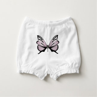 Pink Butterfly Small Blush Nappy Cover