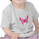 Pink Butterfly T Shirts