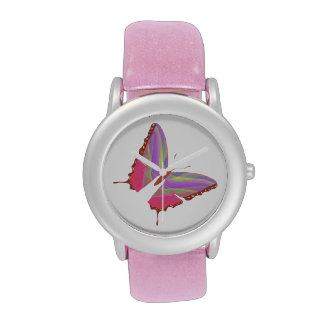 Pink Butterfly Watch Watches