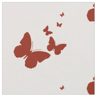 pink butterflys fabric