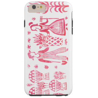 Pink Butterprint iPhone 6/6S Tough Case