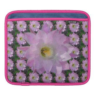 Pink Cacti Flower iPad Sleeve