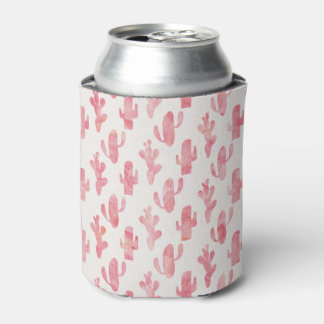 Pink Cactus Coozy Can Cooler