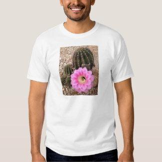 Pink Cactus Flower T-shirts