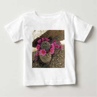 Pink Cactus in Bloom Baby T-Shirt