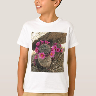 Pink Cactus in Bloom Shirts