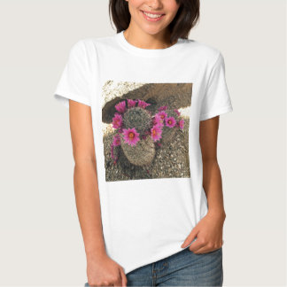 Pink Cactus in Bloom Tee Shirt