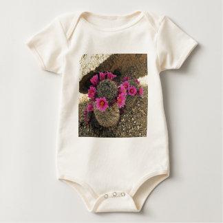 Pink Cactus in Bloom Bodysuits