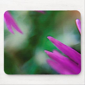 Pink Cactus Petals Mouse Mat
