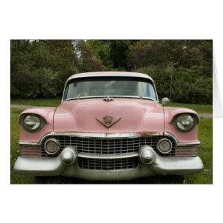 Pink Caddy Greeting Card