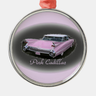 Pink Cadillac Flash Christmas Ornament
