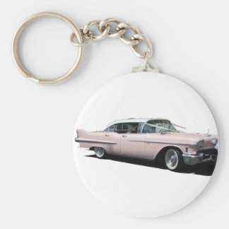 Pink Cadillac Key Ring
