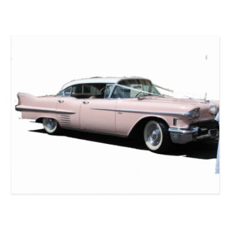 Pink Cadillac Postcard