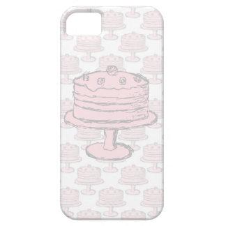 Pink Cake on Pink Cake Pattern. iPhone 5 Case