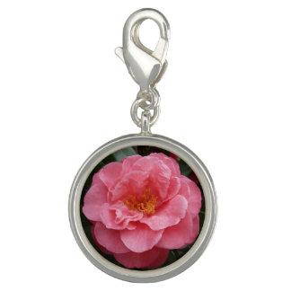 Pink Camellia Flower Charm Jewellery