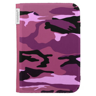 Pink Camo Cases For The Kindle