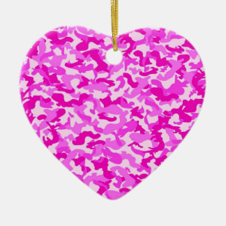 Pink Camo Christmas Ornament