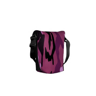 Pink Camo Courier Bags