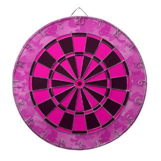 Pink Camo Dartboard