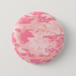 Pink Camo - Girly Camo 6 Cm Round Badge
