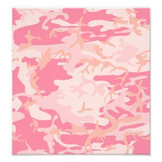 Pink Camo - Girly Camo Photo Print