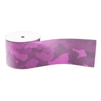 Pink Camo Grosgrain Ribbon