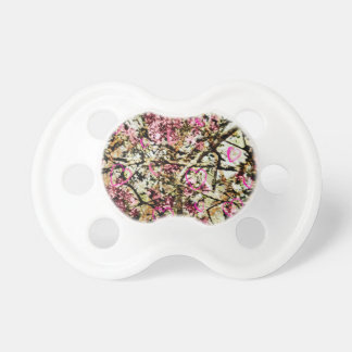 Pink Camo Hearts Pacifier