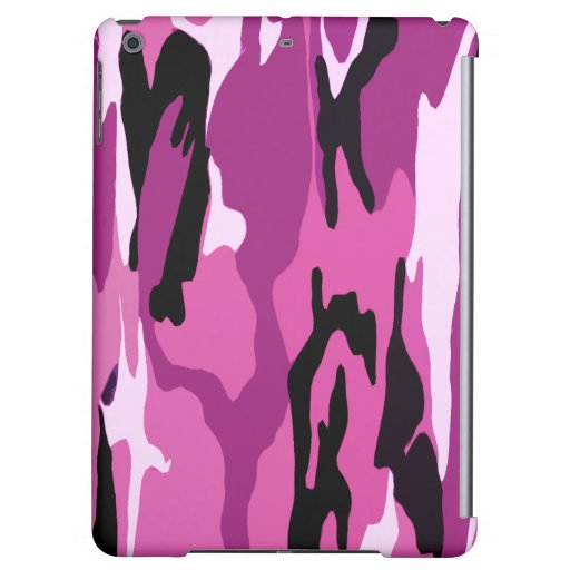 Pink Camo Case For iPad Air