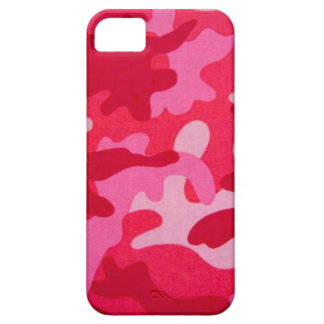 Pink Camo iPhone 5 cover