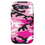 Pink Camo Samsung Galaxy S Case