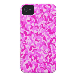 Pink Camo v2 iPhone 4 Case-Mate Case