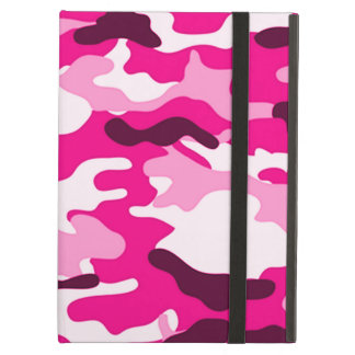 Pink Camouflage Cover For iPad Air